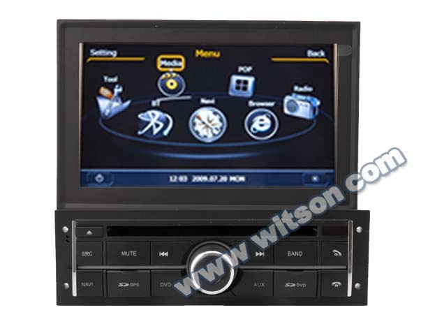 WITSON AUDIO <strong>DVD</strong> GPS MITSUBISHI <strong>L200</strong> 2010-2012 WITH A8 CHIPSET DUAL CORE 1080P V-20 DISC
