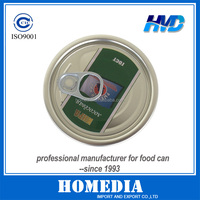 300# printing EOE lid for easy open food tin can