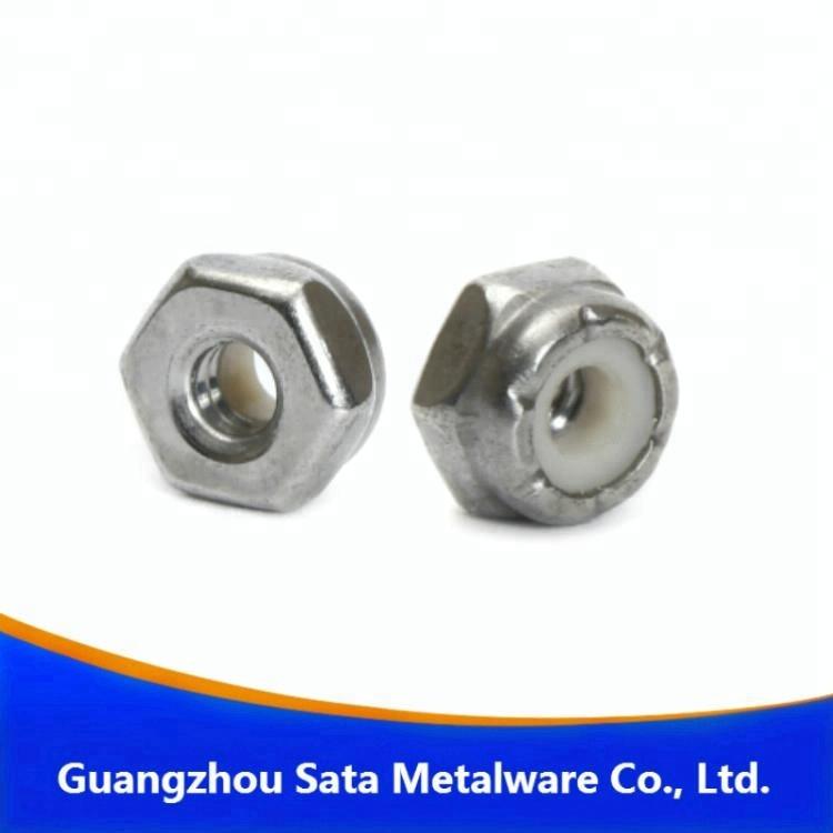 100 Half thick NTE Series Fine Thread 3//8-24 Nylon Insert Lock Nut Thin Jam
