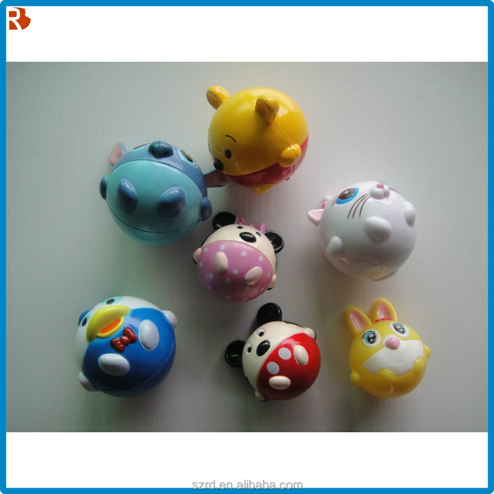 mini cartoon animal toy figure/custom animal toy/mini toy for kid
