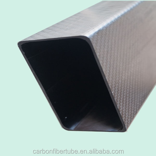 high tensile 3k squar carbon fiber tube ,customized carbon fiber tubing 3k