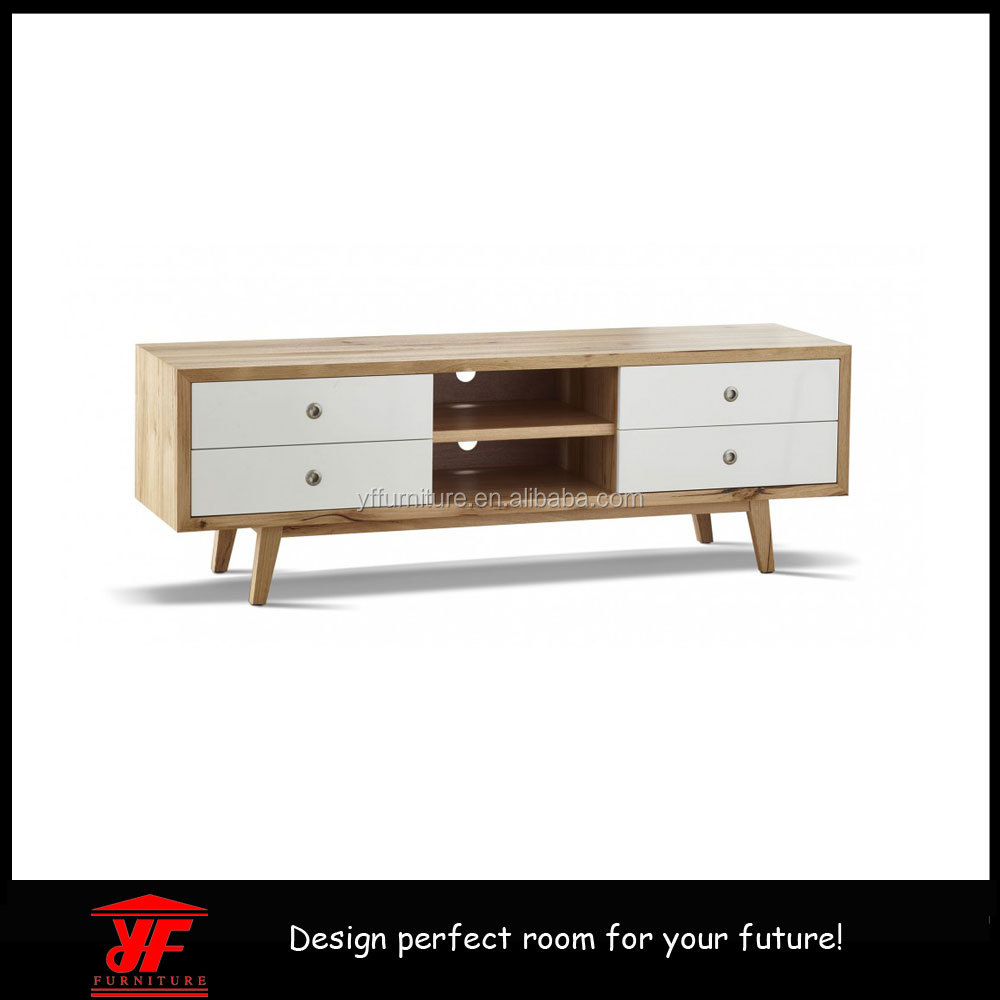 Scandinavian Furniture Design Low Price Wooden LCD And Led TV Table