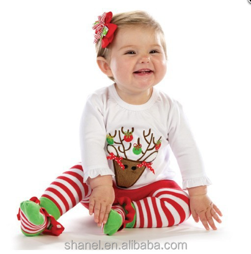 Clothes lovely girls outfits fall baby clothes 2015 christmas children