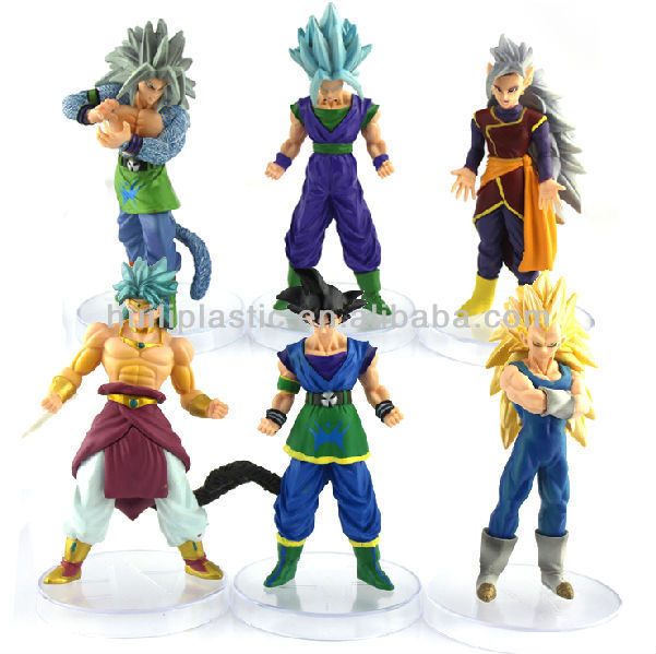 Custom plastic figurine manga,customized figurine manga plastic