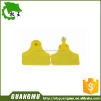 Live stock animal for pig ear tag with metail nail