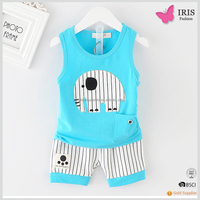 Meimei cartoon kids clothing wholesale with sea-maid