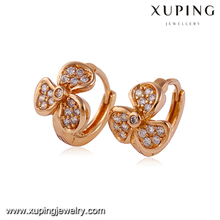 24060-Cheap Rose Gold New Designs Girls Earring