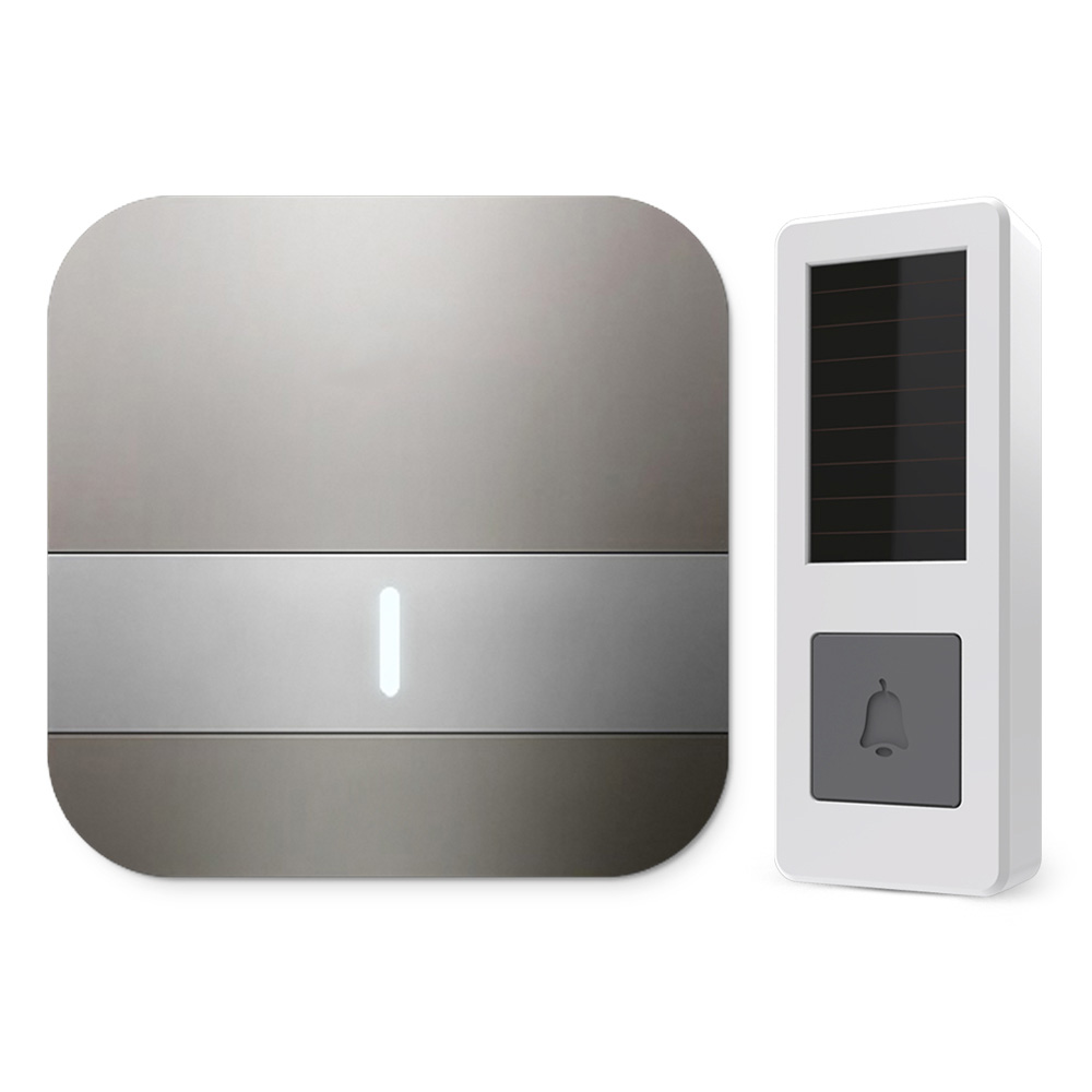 B13 wireless door bell 300M wireless door chime with 52 classic music 433MHZ free match cordless door chime
