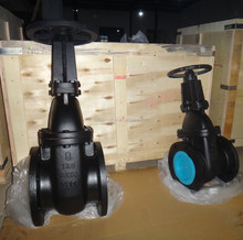 china manufacturer flange end cast iron gate valve ANSI class 125/150 rising stem