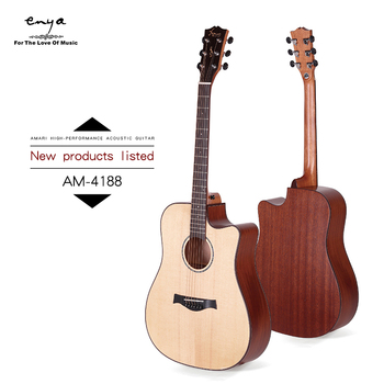 Amari Cutaway AM-4188C Top Solid Cheapest In The Alibaba Top Solid guitar