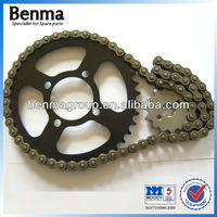 Motorcycle Sprocket Chain Set CD70, Good Quality 41t/14t 420/104l Motorcycle Chain Sprocket