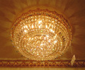 Crystal chandelier and ceiling fixtures VOL
