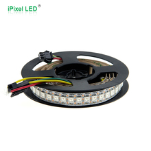 5050SMD DC5v ipixel led strips connector 3 pin connectors 144 led strip ws2812 profile