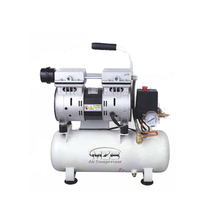 550w silent oil free air compressor single phase mini oil free noiseless air compressor