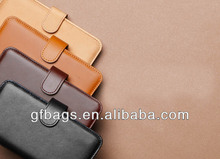 GF-J008 Hot Selling Leather Wallet Case for iphone 5