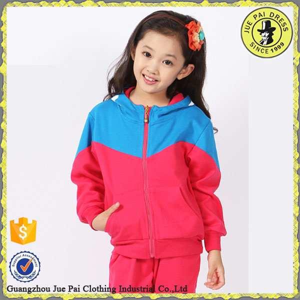 Tailed School Girl And Boy Warm Up Track suits Custom Jogging Suit