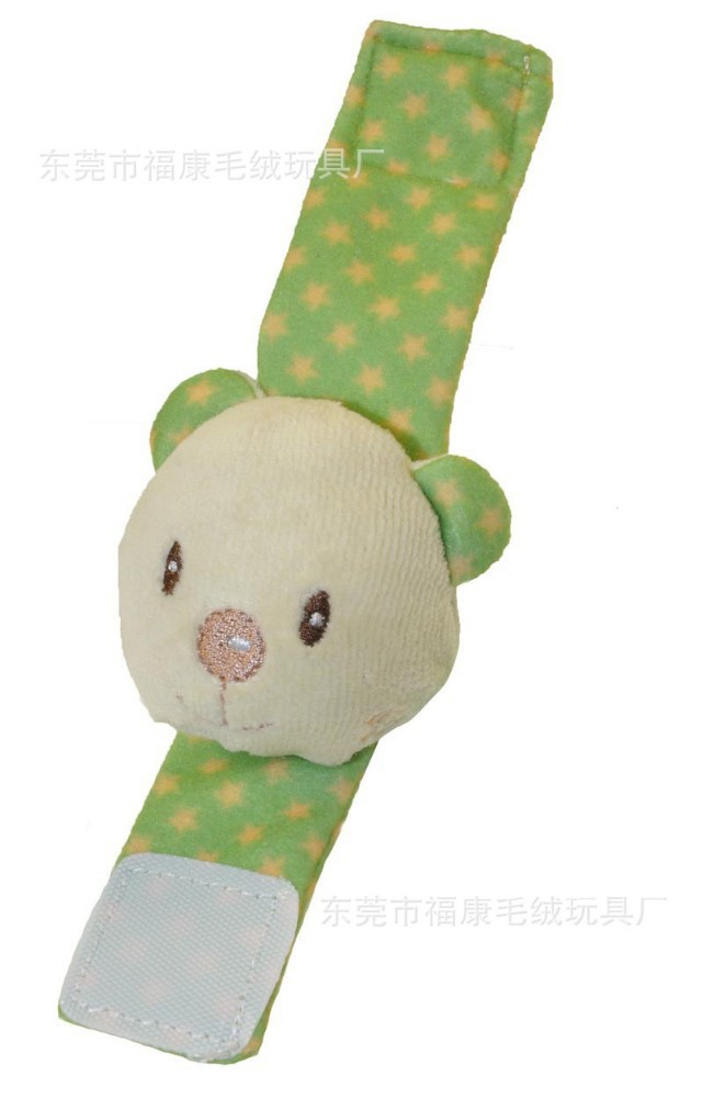wholesale promotional custom plush snap bands little pig fabric slap bracelet