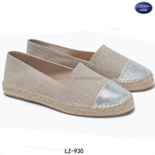 Jute sole canvas upper alpargata 2017 women brand lady espadrille shoes zapatos de mujer
