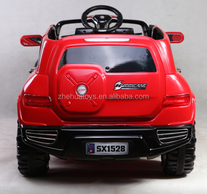 Remote controlled ride on car 4 seater kids electric ride on car toys