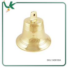 Personalized Gifts Engraved Brass Bells 7Inch Polished Brass Wall Bell