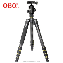 Lightweight professional carbon fiber tripod for photography enthusiasts