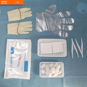 Surgical Dressing Pack Medical Disposable EO Sterile Wound Dressing Set