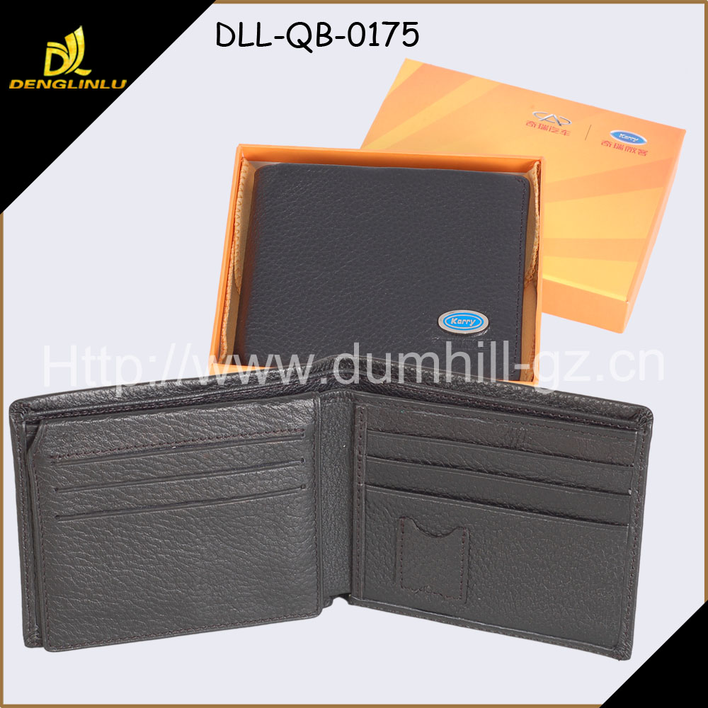 RFID anti blocking thin slim leather wallet with SD slots