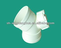 Excellent custom pvc pipe fitting/45 degree elbow