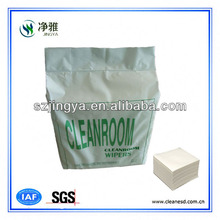 cleaning paper industrial competitive price 600series of wiping paper wood polyester materia