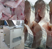 Hot selling ! Fresh and frozen Fish cutting machine Fish fillet cutting machine Fillet cutting machine Frozen fillet cutter