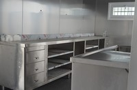 China container house prefabricated kitchen