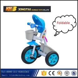 3 wheels kids tricycle toys vehicle,foldable baby tricycle