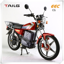 made in China solid electric motorbike tailg two wheels moped bike steel eec scooter for sales TL1500DQ-EC