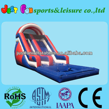 inflatable large water slide for commercial use