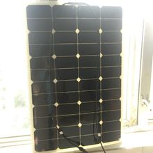 For Yacht backpack cabin cruisers house 12v 80w 90w 100w flexible solar panel