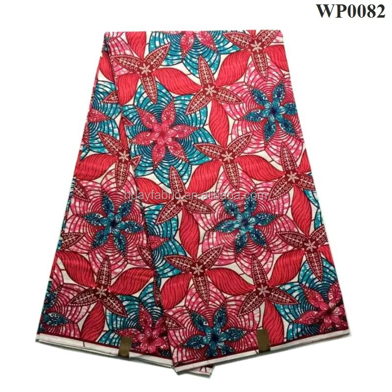 Wholesale african wax print fabric wax java print fabrics super wax hollandais WP0082