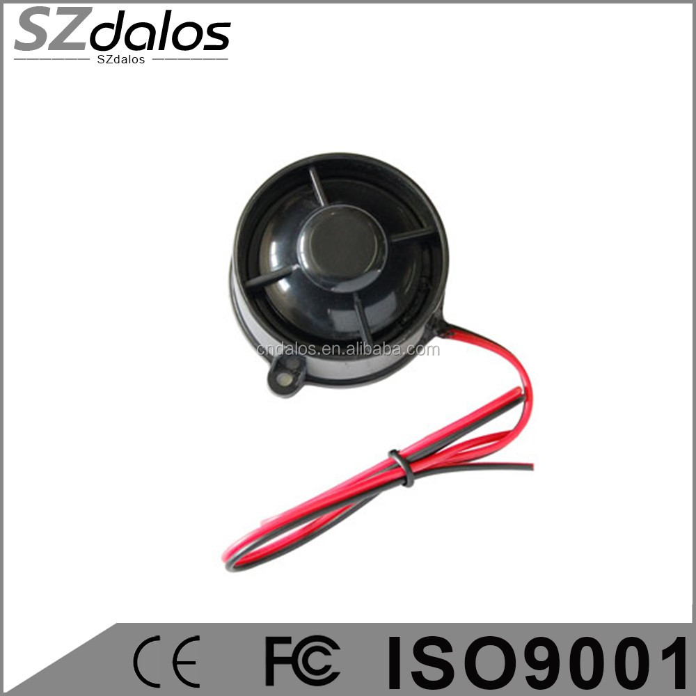 Hot selling in South America Built-in audio amplifier 6 tone / 1 tone car alarm siren
