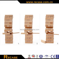3D wooden puzzle toy jenga wooden game block puzzle kids balance jenga game