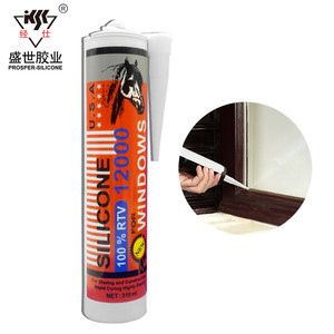 Facotry Price Wally Quality Antibacterial Acetic Silicone Sealant/Windscreen Sealant Repair/Raw Material Silicone