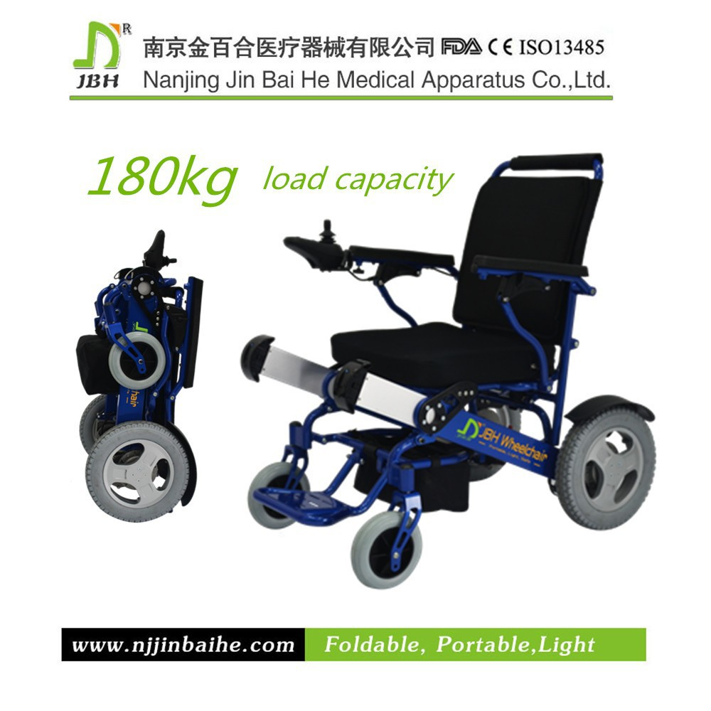 2015 big power folding electric lightweight tricycle electric wheelchair