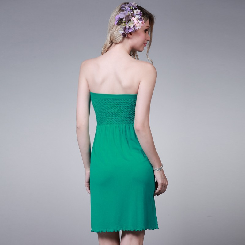 Maxi Hot selling dress strapless Slim Dress Y165