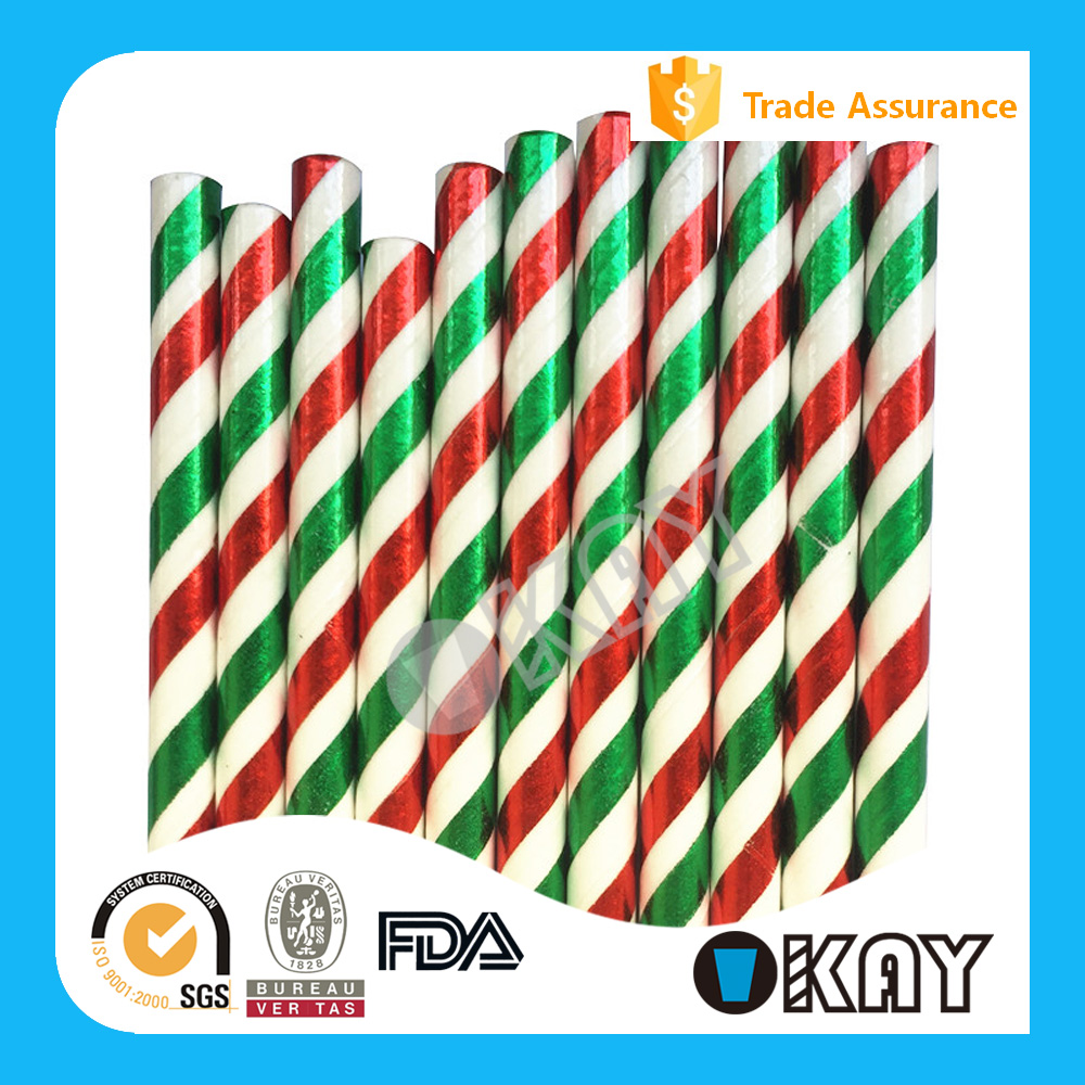 Party 2016 Wholesale Reusable Smoothie Small Paper Straws