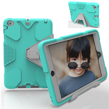 Rubber Heavy Duty Shockproof Hard Case For iPad Mini 1 2 3 Retina with Stand
