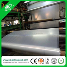UV resistant clear plastic polyethylene film for greenhouse