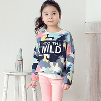 like too unisex kids clothes Children's Shirts & Tops 100% cotton long sleeve t shirts boys t-shirts girls tops factory 6068
