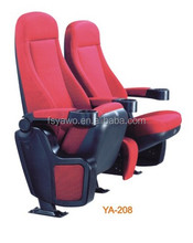 Folding fabric chair for sale theater cinema seats cheap church chairs