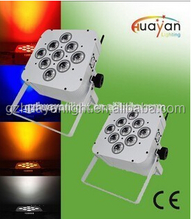 Battery light 12x8W DMX Control for Stage/Party/Wedding/Club show