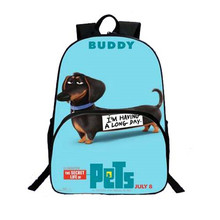 Lovely 3D Dogs Kids School Bags Travel Bag Wholesale