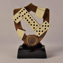 Resin private custom trophy for puzzle