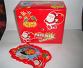 Santa Claus Popping Candy with Lollipop